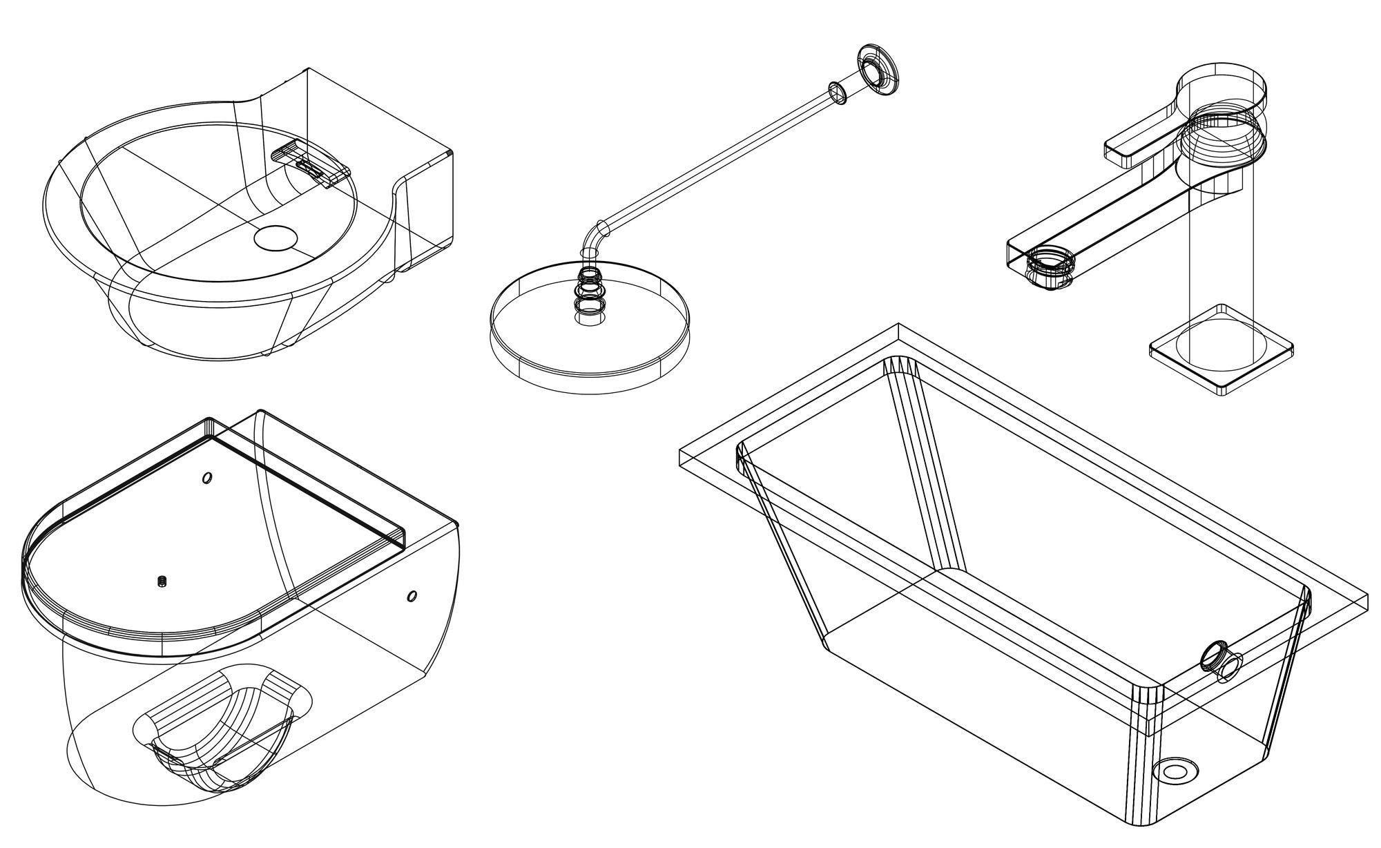 Pin Em Architecture Render