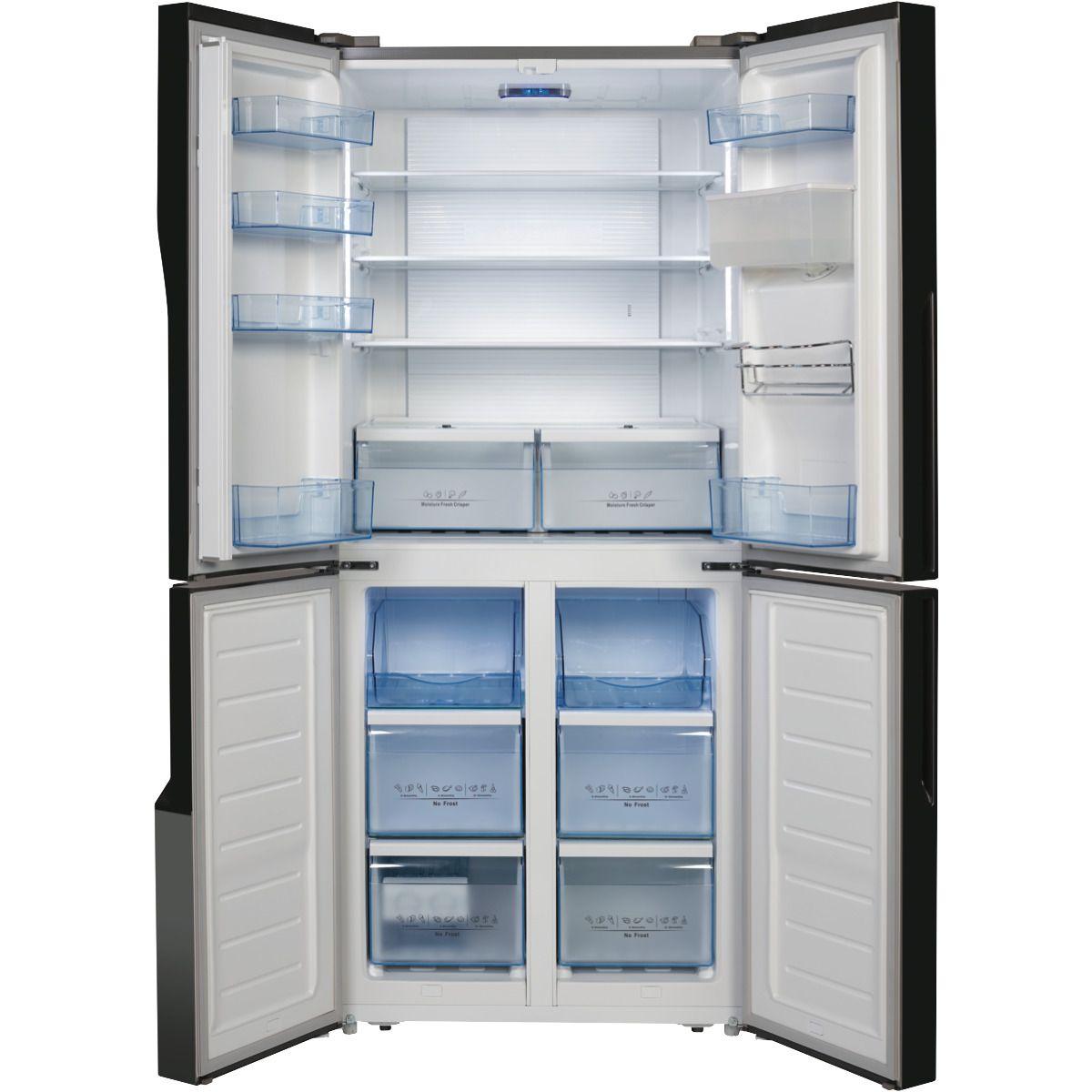 Hisense Hr6cdff509sw 509l French Door Refrigerator At The Good Guys American Fridge American Fridge Freezers American Style Fridge Freezer