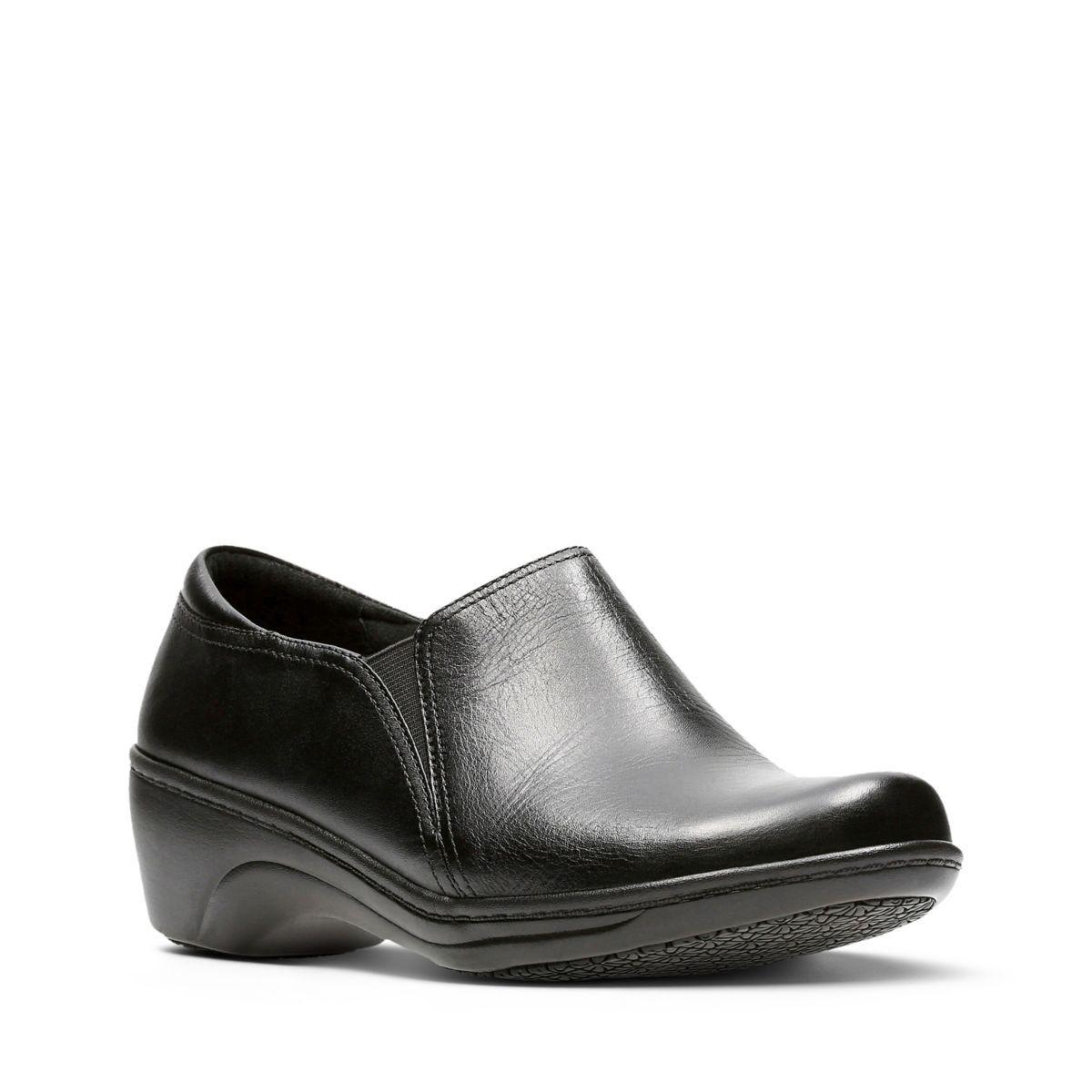 b433e4b031e Clarks Grasp Chime - Womens Shoes Black 6.5 D (Medium)