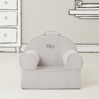Entry Level Nod Chair Grey Stripe The Land Of Nod Change The