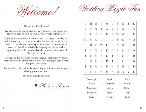 Oot Welcome Booklet Example