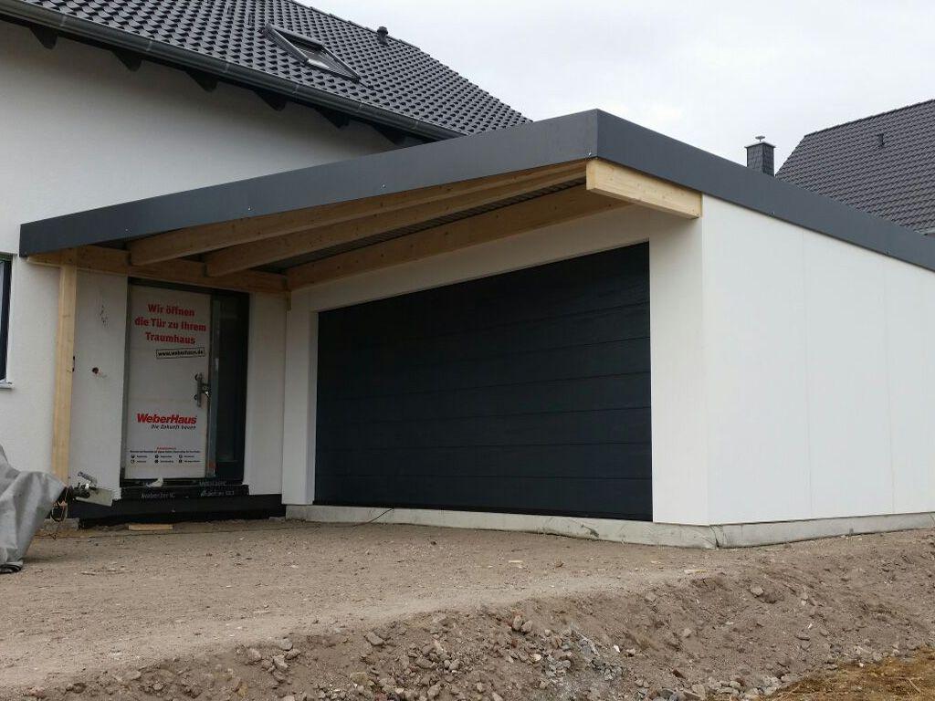 Doppelgarage modern pultdach  Bildergebnis für stadtvilla garage vordach | house | Pinterest ...