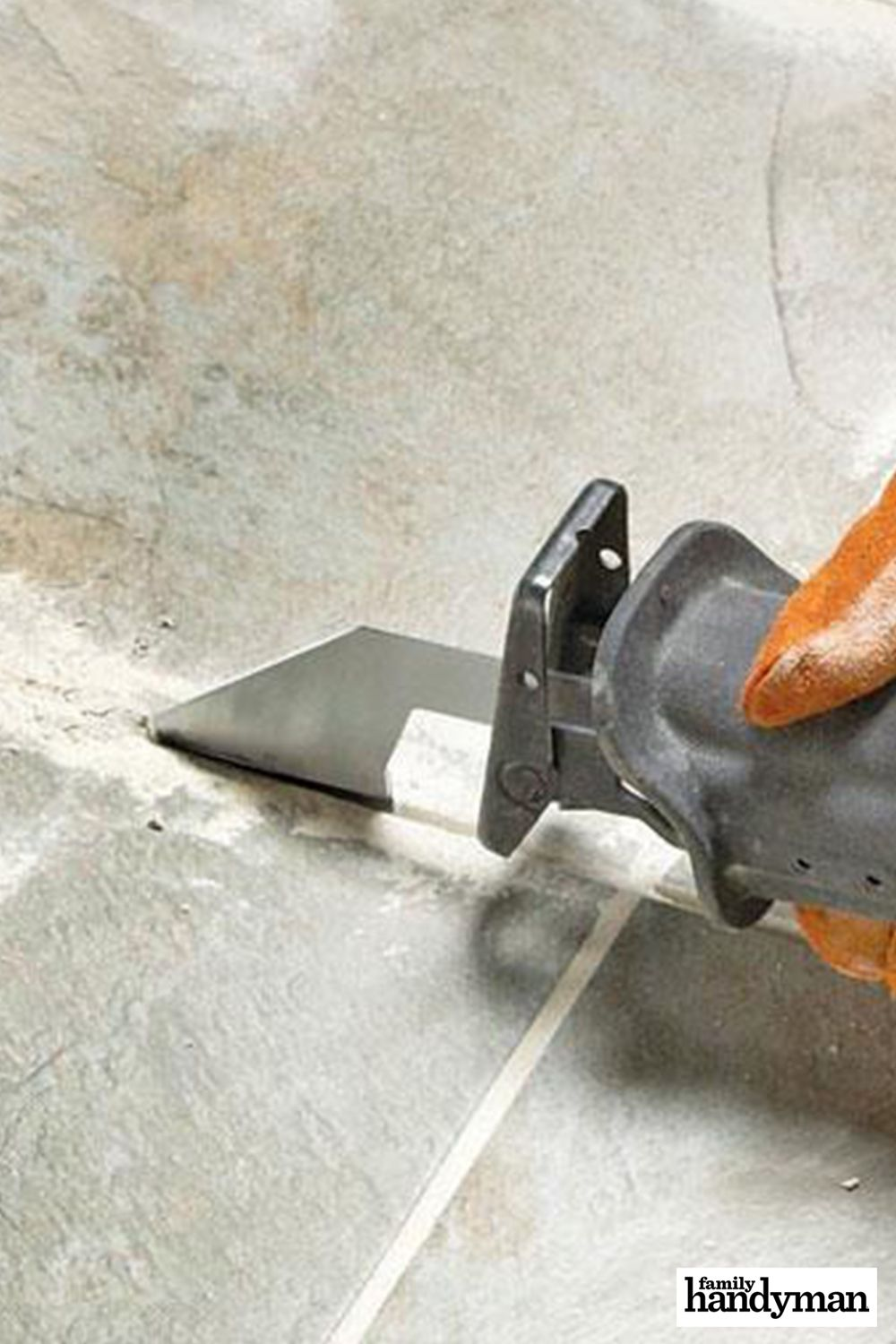 tips for removing grout tile removal