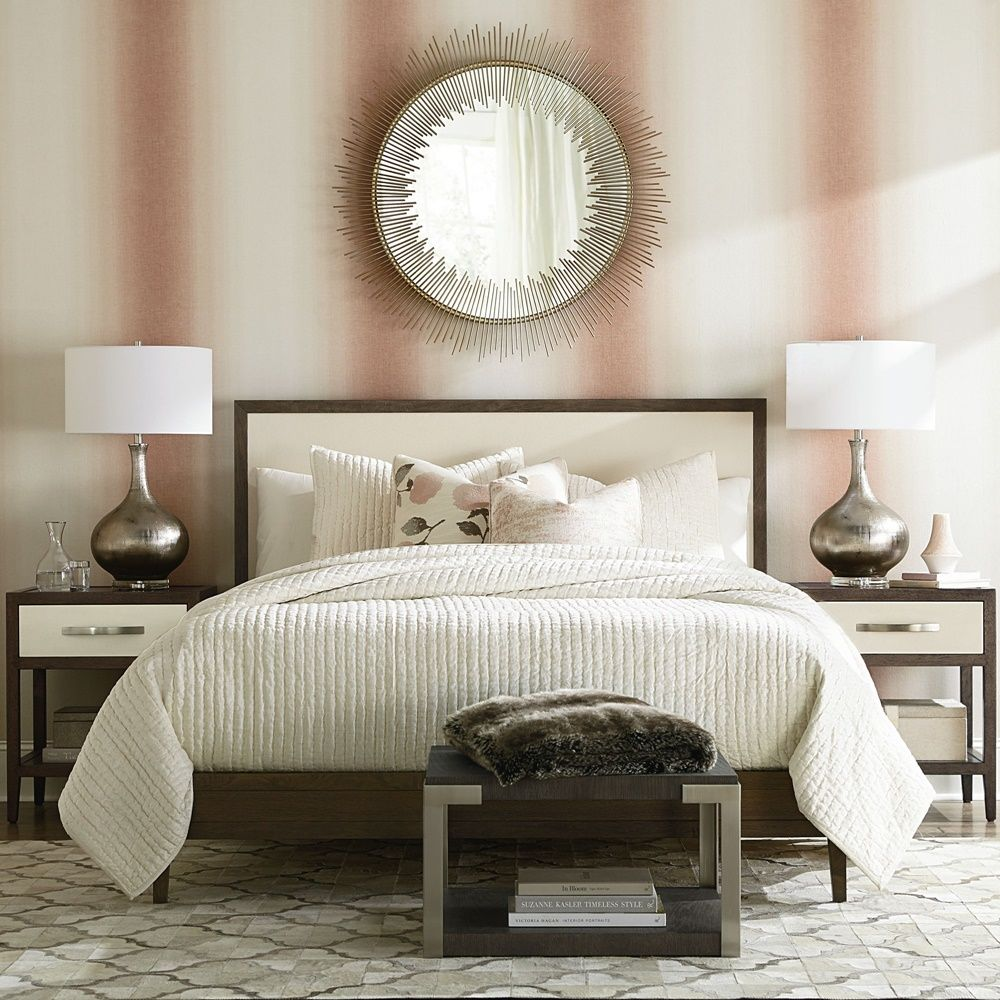 MODERN Emilia Panel Bed Panel bed, Wood, upholstered bed