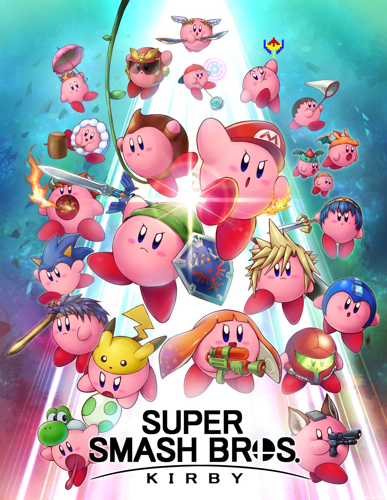 Super Smash Bros Kirby Super Smash Brothers Ultimate Nintendo Super Smash Bros Super Smash Bros Memes Super Smash Bros Brawl