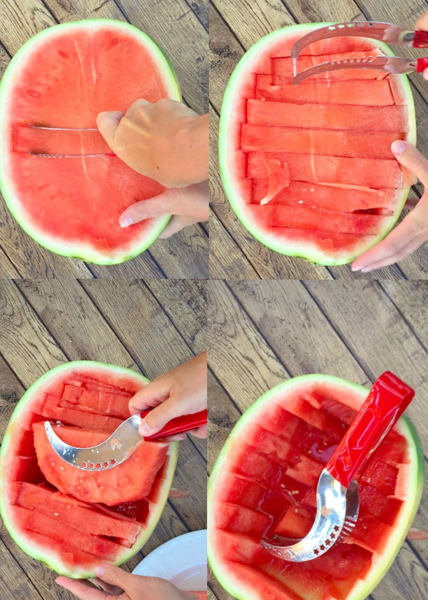 Make watermelon carving easy with this new contraption