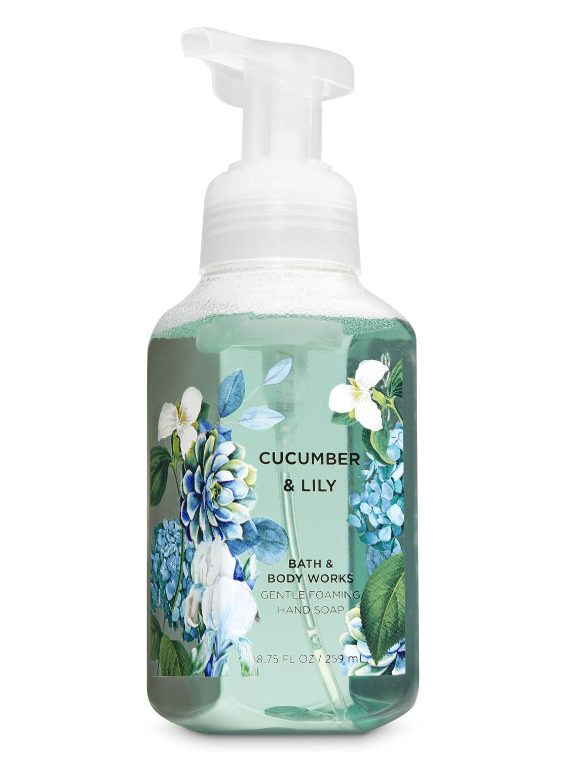 Cucumber Lily Gentle Foaming Hand Soap By Bath Body Works Bath