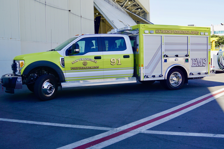 Truck  San Francisco Airport San Francisco Fire Department
