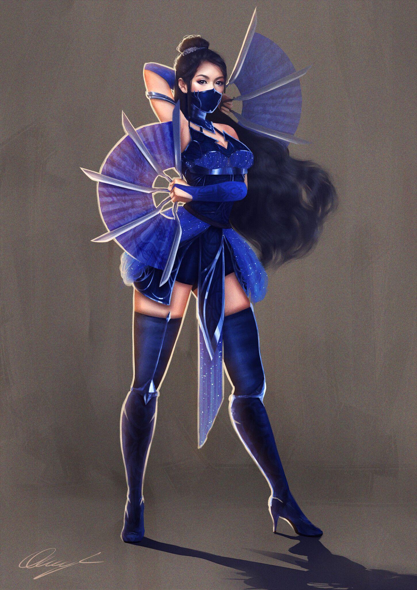 mortal kombat 11 kitana costumes