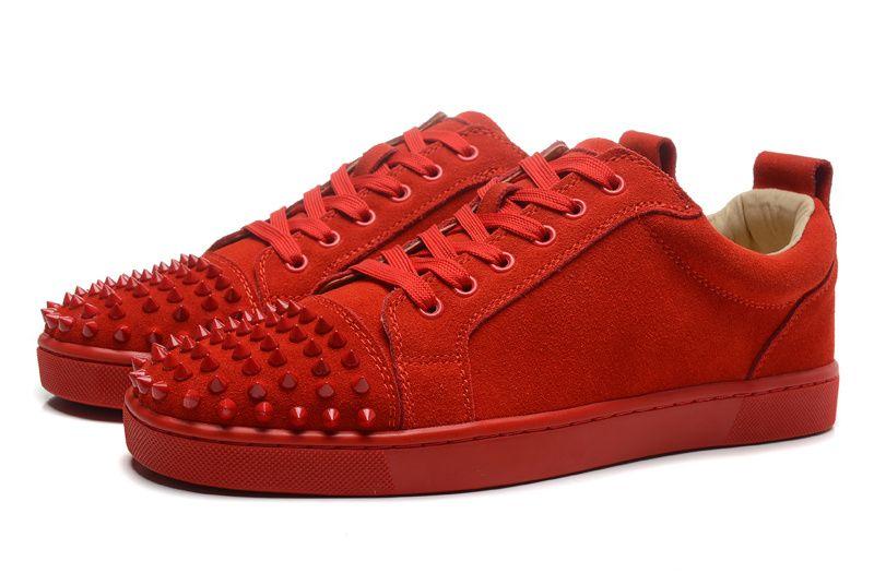 suede spike sneakers by Indie Designs
