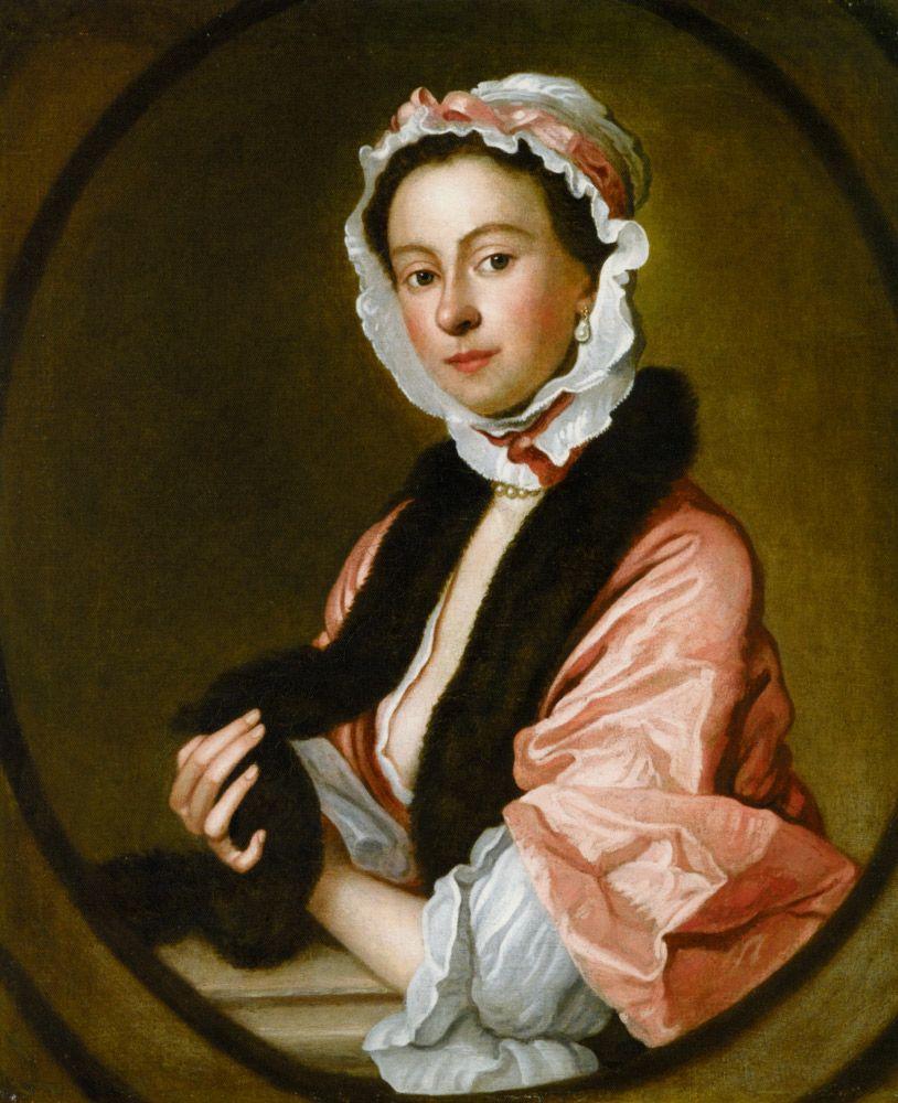 Mrs. John Faber, by Thomas Hudson (1701-1779)