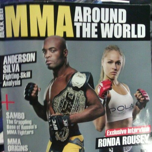 Mma Around The World Learn More At Rondarousey Net Armbarnation