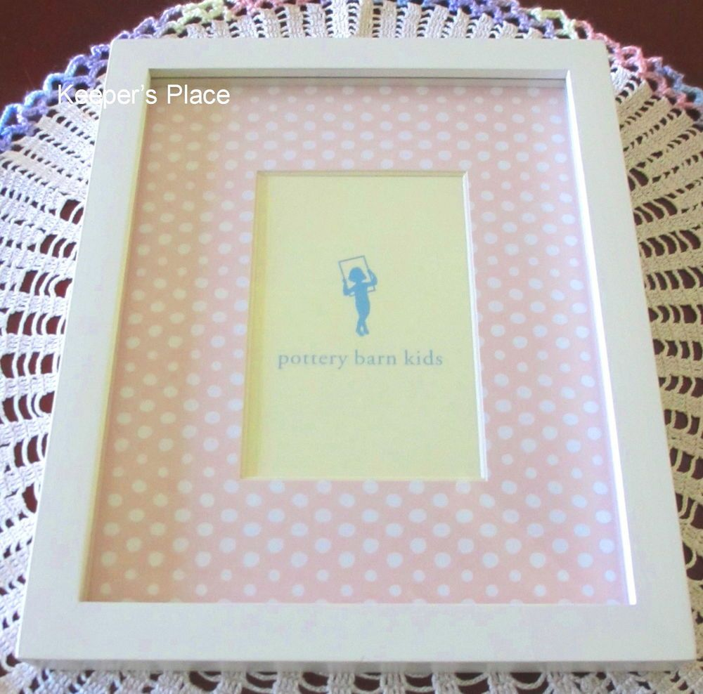 Pottery Barn Kids Wilmington Nc: Pottery Barn Kids Pink With White Polka Dots Easel Wall