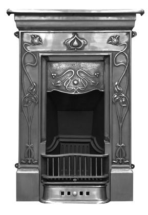 Valley Fireplaces The Tulip A Simple Art Nouveau Classic Fireplace