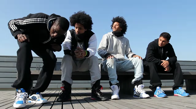adidas hip hop