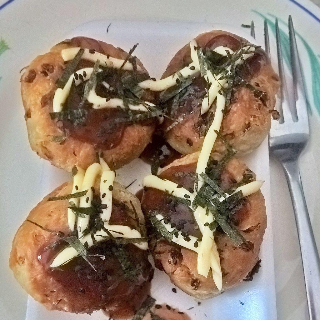 Takoyaki vegano Comida vegana, Comida, Veganos