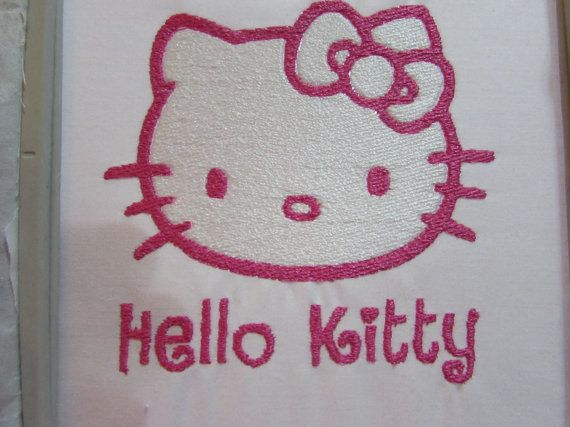 Hello kitty embroidery design by addybugs on etsy