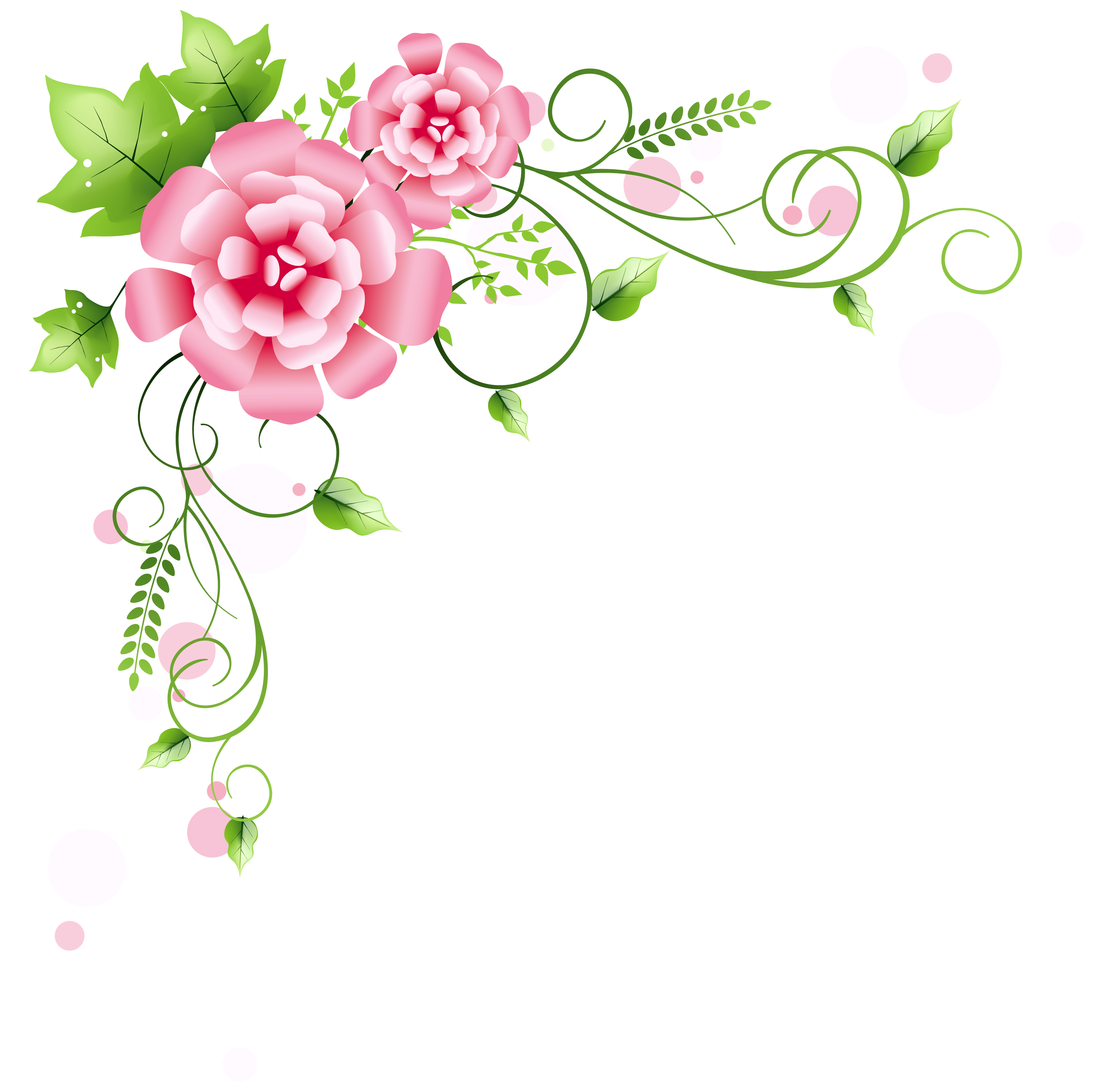 Corner Floral Decoration Png Clipart Picture Bordados A Mao Estampas Abertura De Caderno