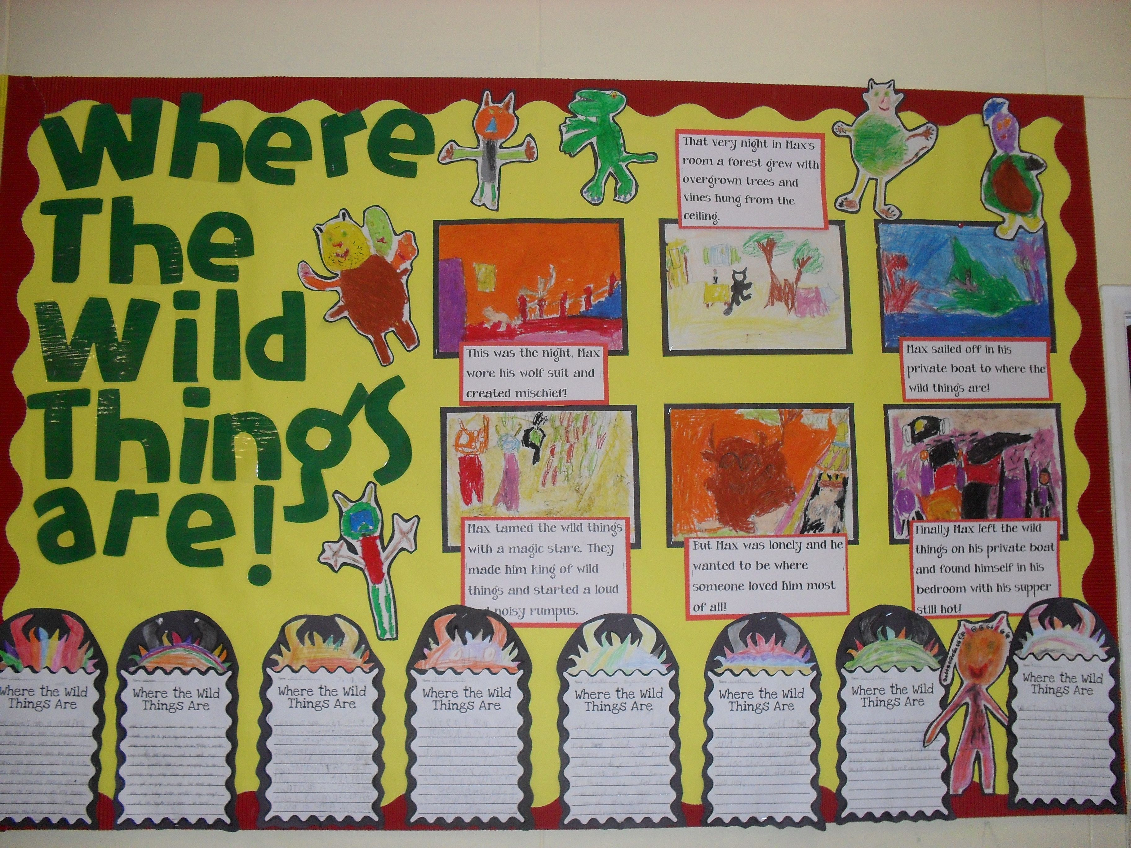 Where the wild things are display