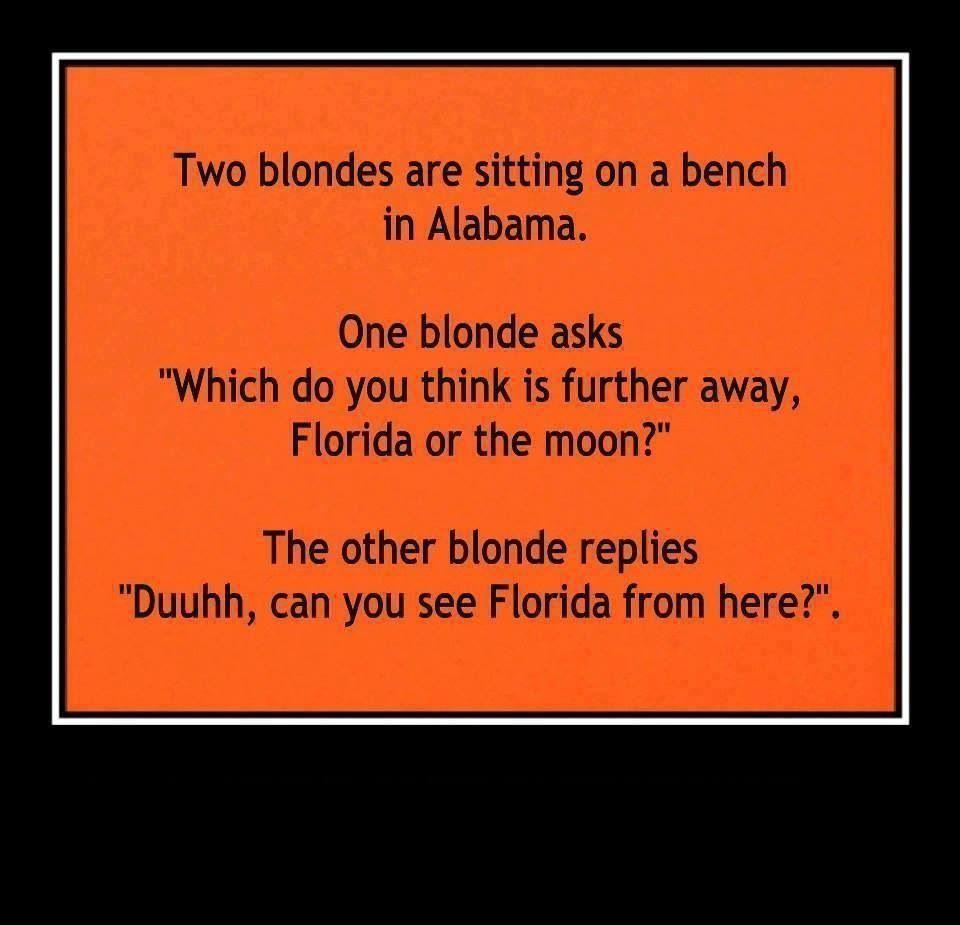 Funny blonde jokes dirty