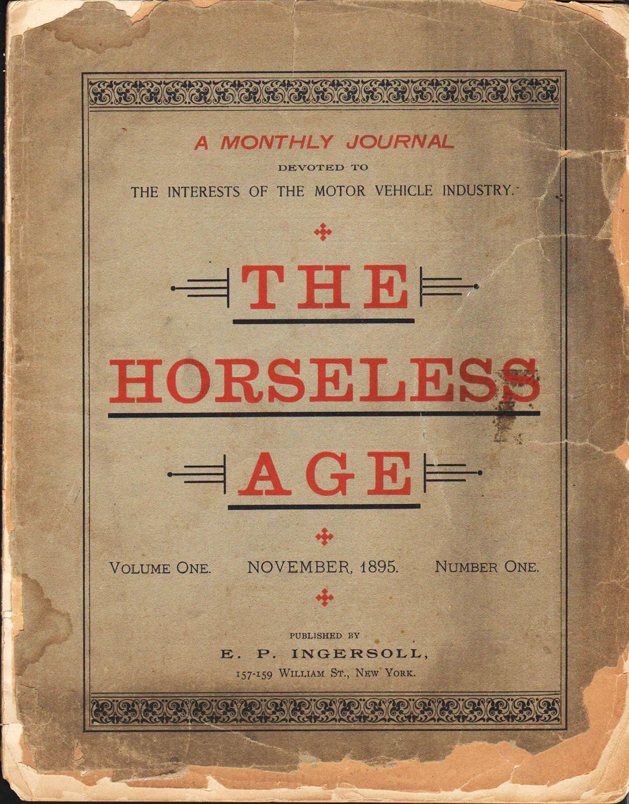 Horseless Age - The Steven Lomazow Collection