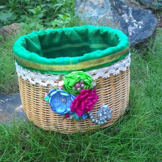Borneo Multifunction Rattan Basket