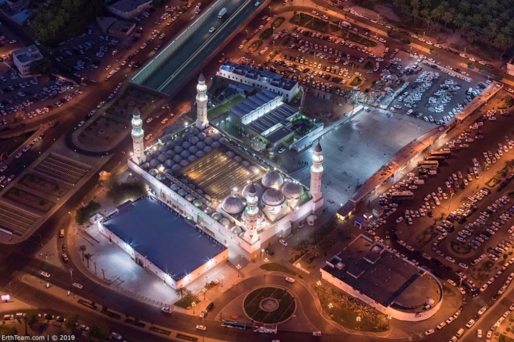 صور ساحرة من السماء لمعالم السعودية Sci Landmarks Travel