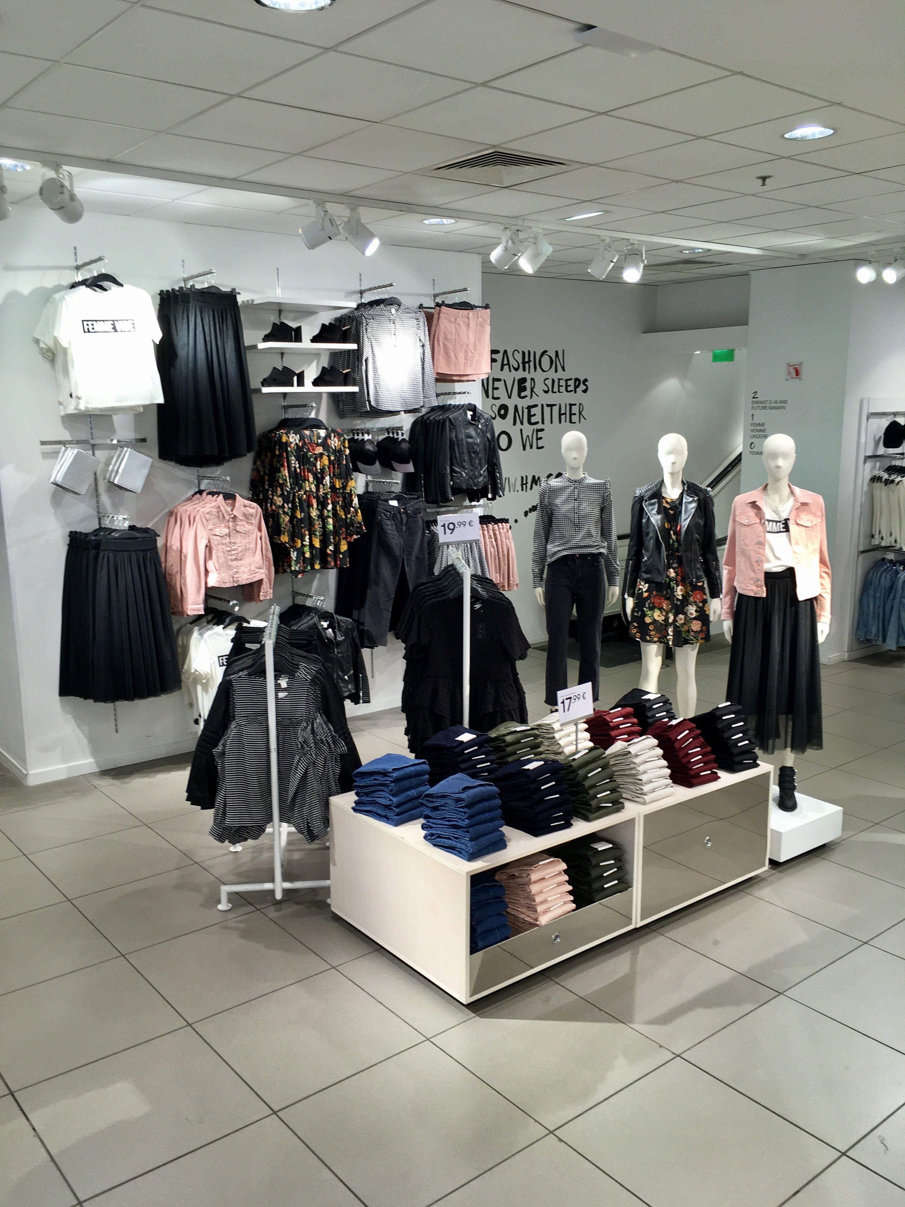 Merchandising Visuel Merchandiser Styling Mode Fashion Display H M