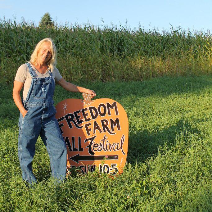 Lisa King Always Enjoys Helping The Brothers Prepare For The Freedomfarms Annual Fallfestival Farm Kings Fall Festival Freedom