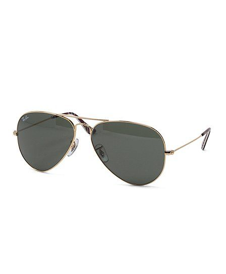 412273d7e6e Ray-Ban® Aviator Sunglasses with Burgundy BB 1 Repp Stripe - Brooks Brothers