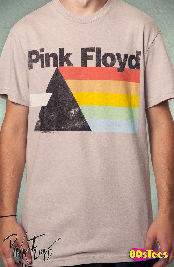 5abdeadb26 Pink Floyd Prism T-Shirt: Pink Floyd Mens T-Shirt | New Mens T ...
