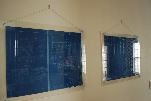 DIY plexiglass frame. So many things could use this for! She talks ...
