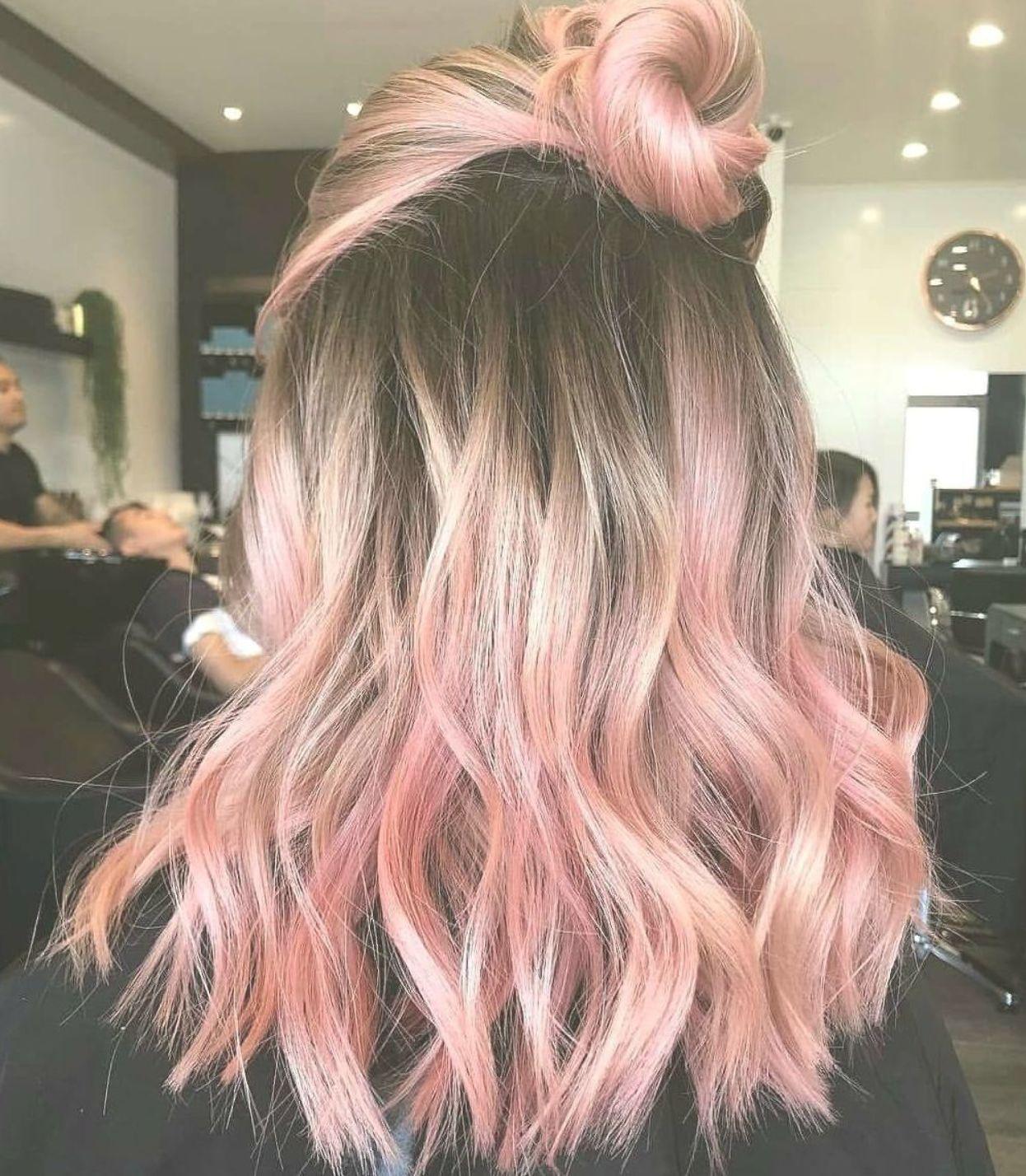 Cute 85 Pastel Pink Hair Ideas Hairandhairstyles Haircolour Hairdo Hairfashion Hairideas Hairoft Pink Ombre Hair Fun Summer Hair Color Pink Hair Tips