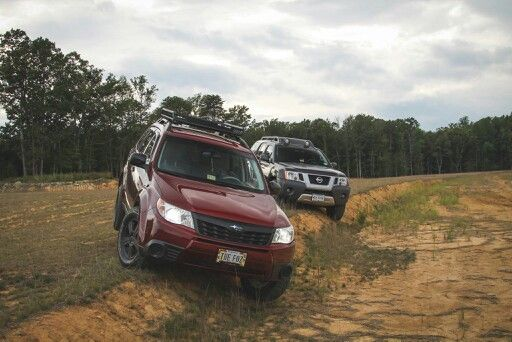 Subaru forester sh lift offroad