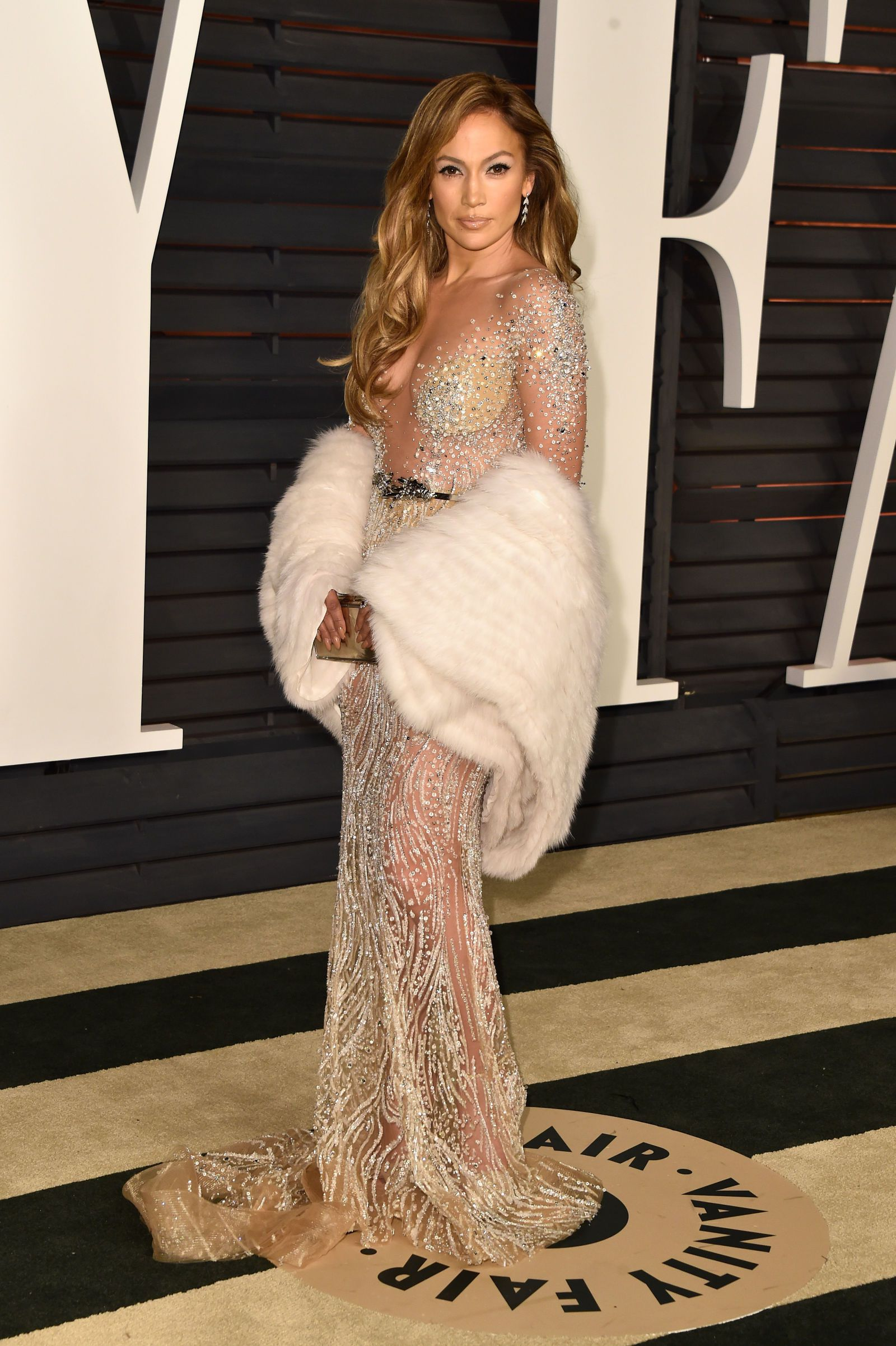 times jlo took the naked dress to the next level hot formal
