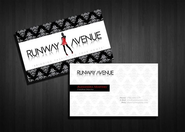 30 most stylish fashion business card designs business cards 30 most stylish fashion business card designs reheart Images