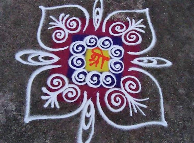Simple Rangoli Designs For Home