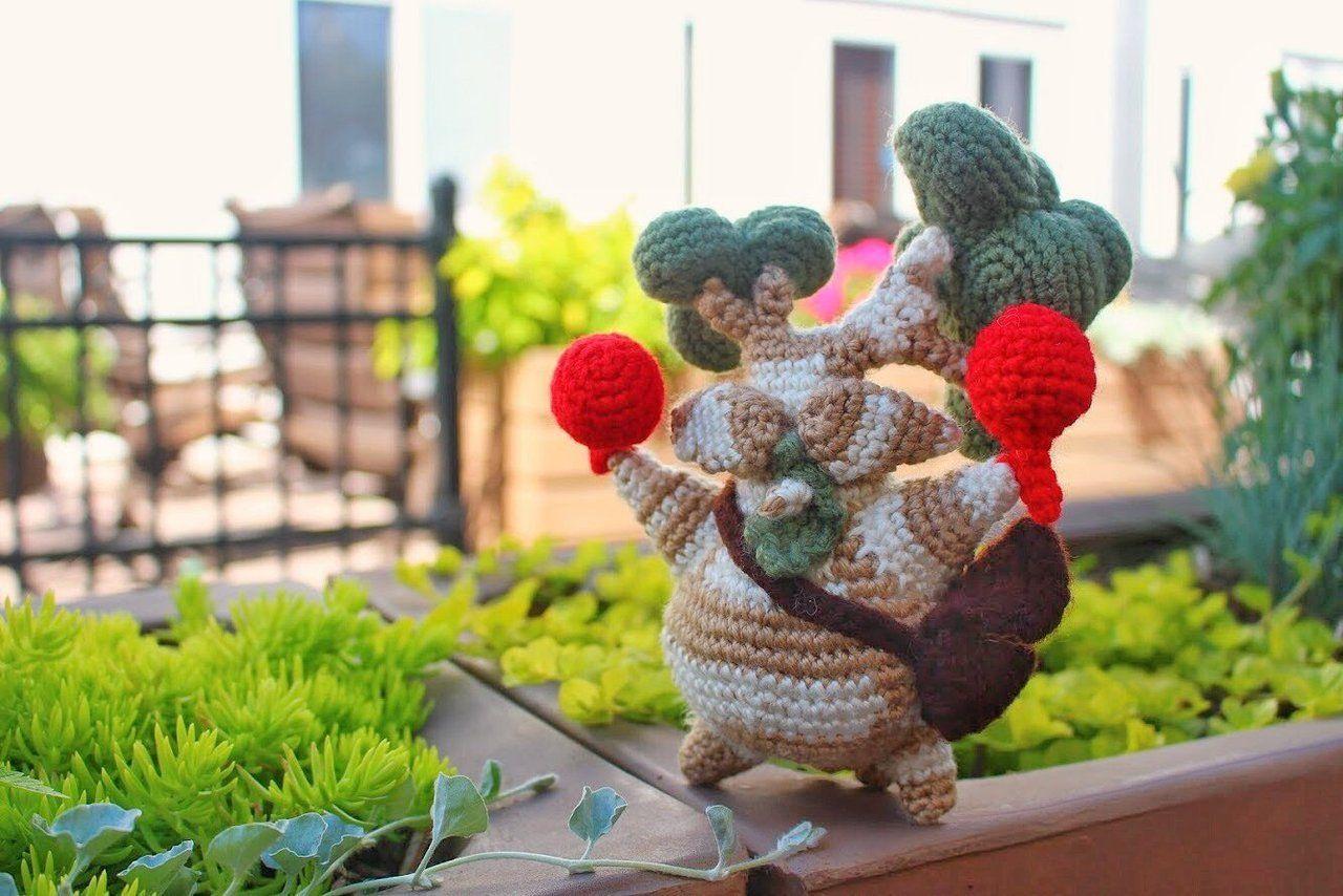 Crochet Koroks made by NemuuCraft -