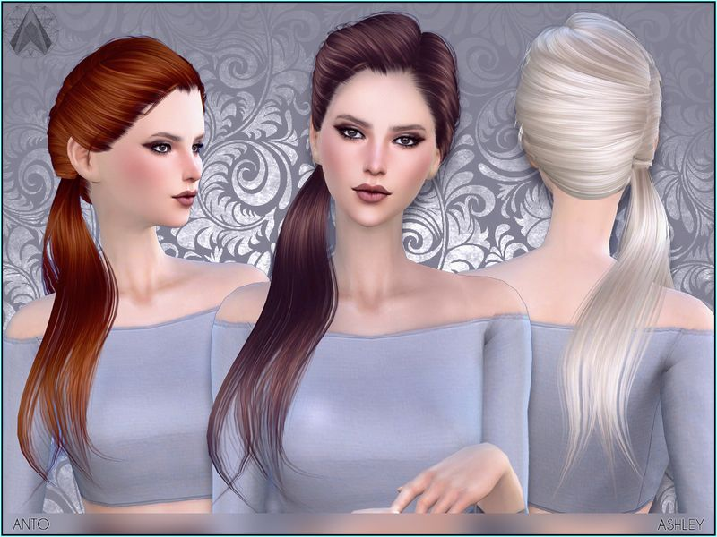 Hairdo With Side Tail Found In Tsr Category 39 Sims 4 Female Hairstyles 39 Sims Hair Womens Hairstyles Sims 4
