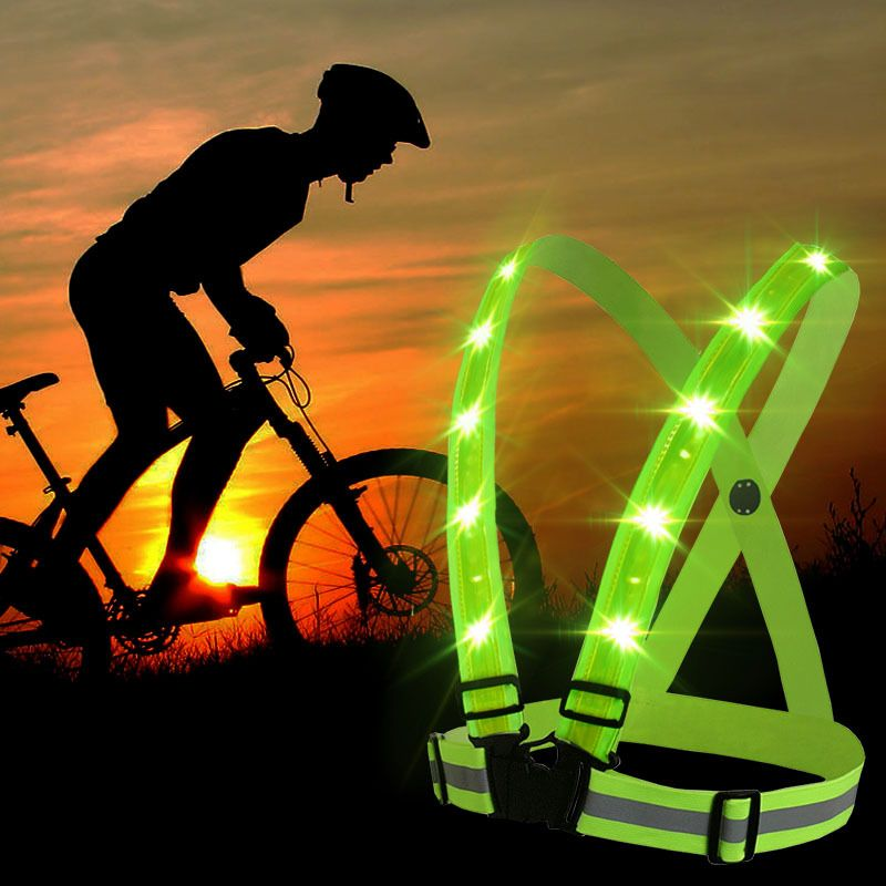High Visibility Reflective Safety Vest Fit For Adults