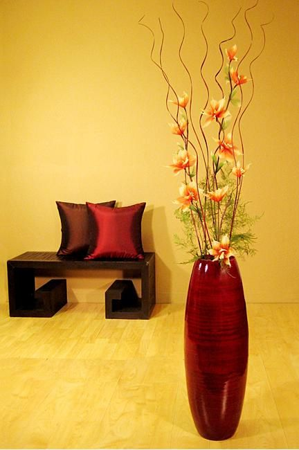 Decorate With Vases Lot About You And A Bamboo Floor Vase