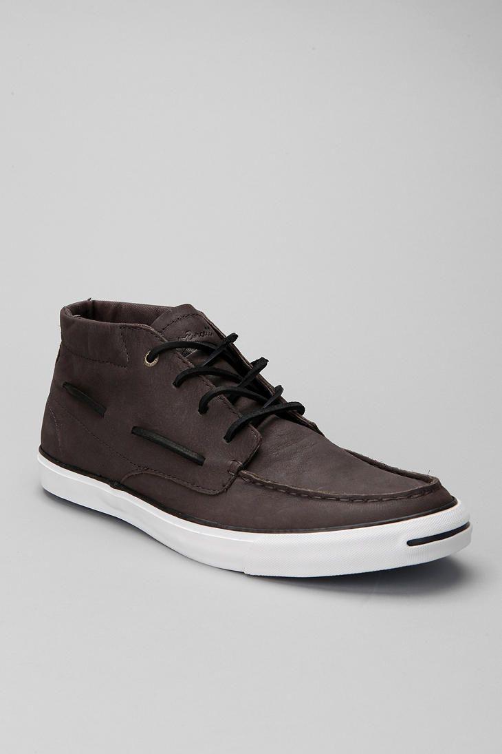 0c40da1a0429 Converse Jack Purcell Leather Boat Shoe