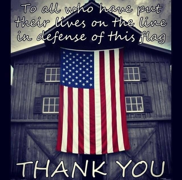 Happy Memorial Day. My family and I thank you.
