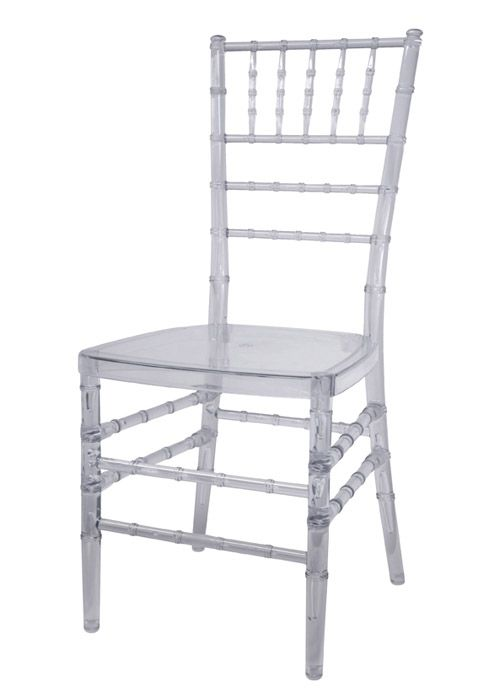 Silla Tiffany Transparente  Muebles  Outdoor chairs