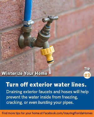 Pin By Security First Insurance On Winter In Florida Homeowner Protecting Your Home Homeowners Insurance