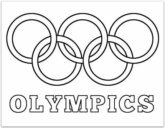 Family Olympics Opening Ceremonies Olympic Rings Preschool