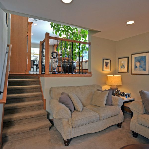 Brookfield Tri Level Family Room Remodel Home Split