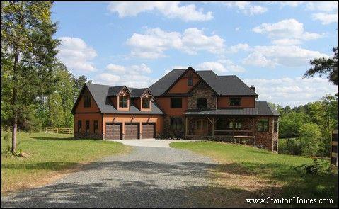 Design Build Contemporary Craftsman Homes in Raleigh North Carolina ...
