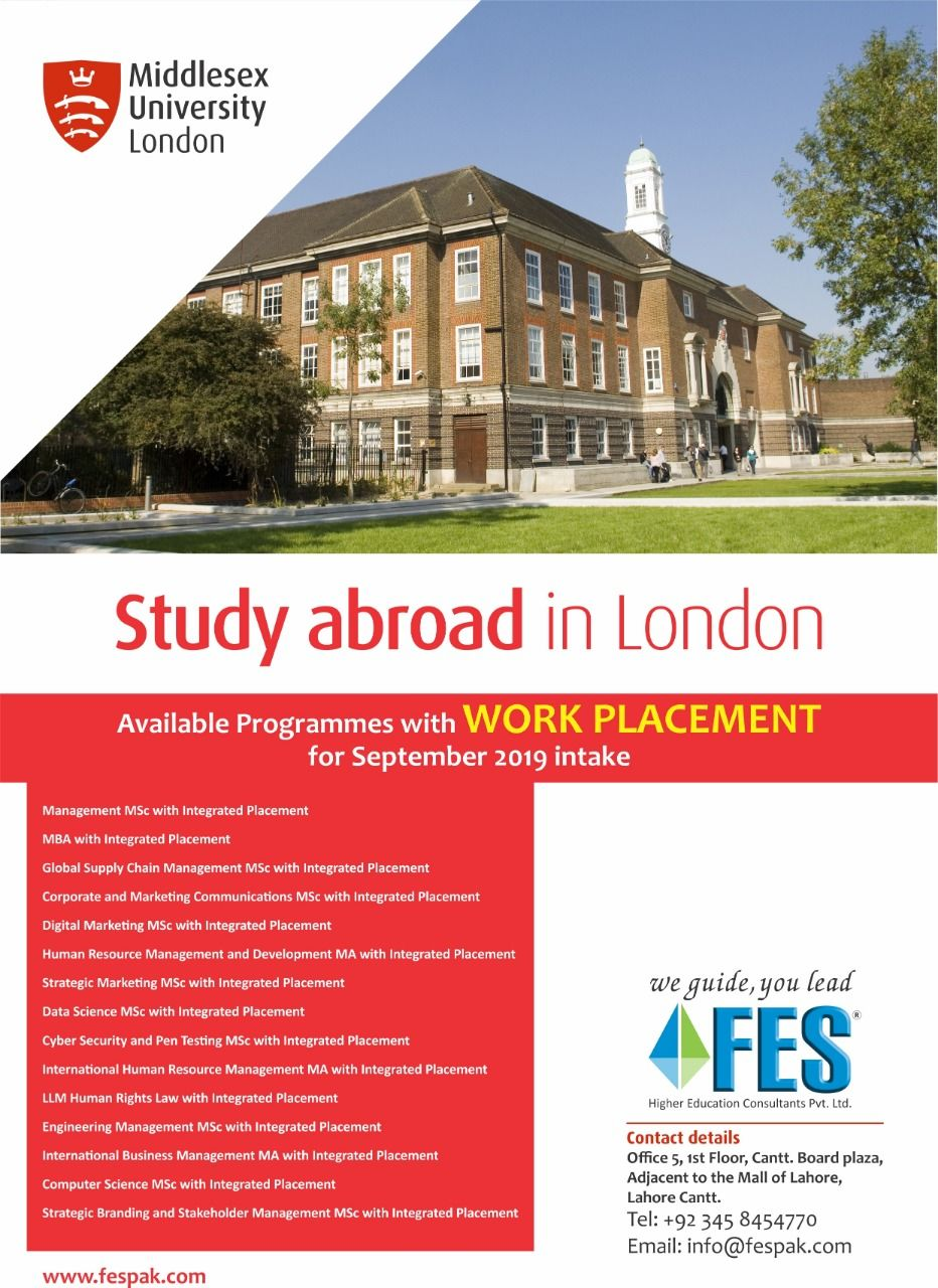 Study In Uk Global Supply Chain Management Educational Consultant Middlesex University