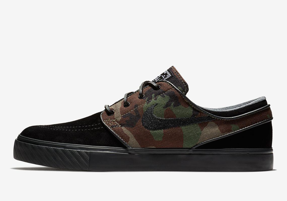 Nike SB Janoski Camo Print 833603-002